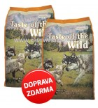 Taste of the Wild - High Praire Puppy 2 x 13 kg DOPRAVA ZDARMA