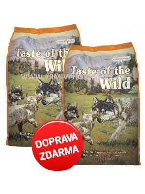 Taste of the Wild - High Praire Puppy 2 x 12,2 kg