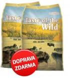 Taste of the Wild - High Praire Canine 2 x 13 kg