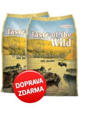 Taste of the Wild - High Praire Canine 2 x 12,2 kg
