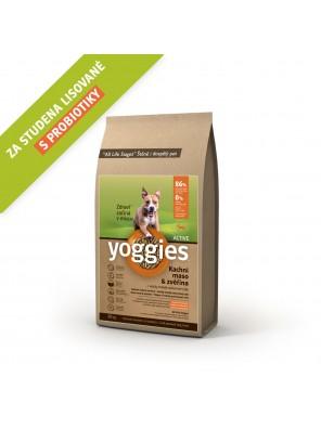 Yoggies Active kachna a zvěřina, granule lisované za studena 20 kg